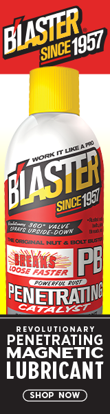 PB B'laster - Revolutionary Penetrating Magnetic Lubricant, Since 1957.